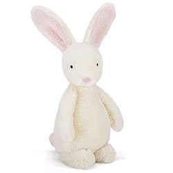 Bobtail Pink Bunny Baby Toy