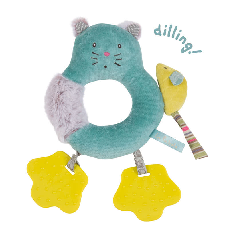 Moulin RotyLes Pachats Cat Ring Rattle