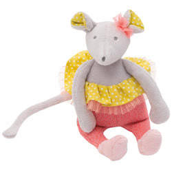 Mademoiselle Mouse Rattle