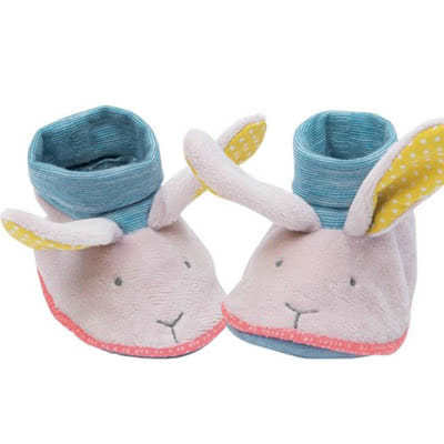 Moulin Roty Mademoiselle Rabbit Slippers