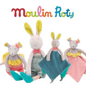 Mademoiselle and Ribambelle by Moulin Roty