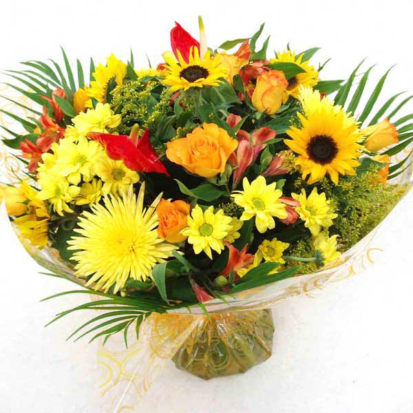 National Flower Delivery Sunshine Handtied Bouquet