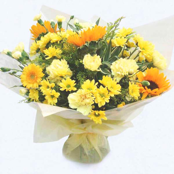 National Flower Delivery Shades of Yellow