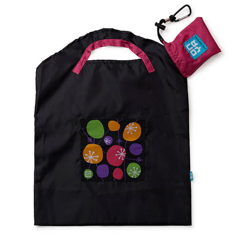 OnyaBlack Retro Small Shopping Bag
