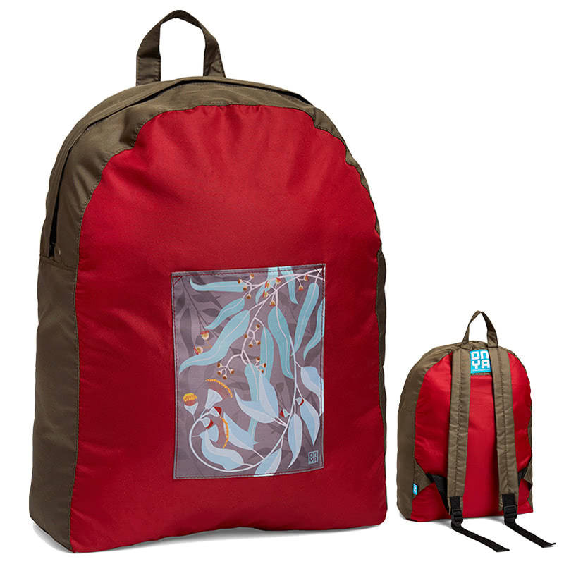 Onya Dark Leaves Backpack