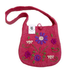 Maya Felt Shoulder Bag