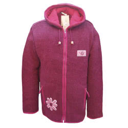 Coniston Hoody Claret
