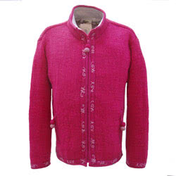 Kashmir Jacket Rose