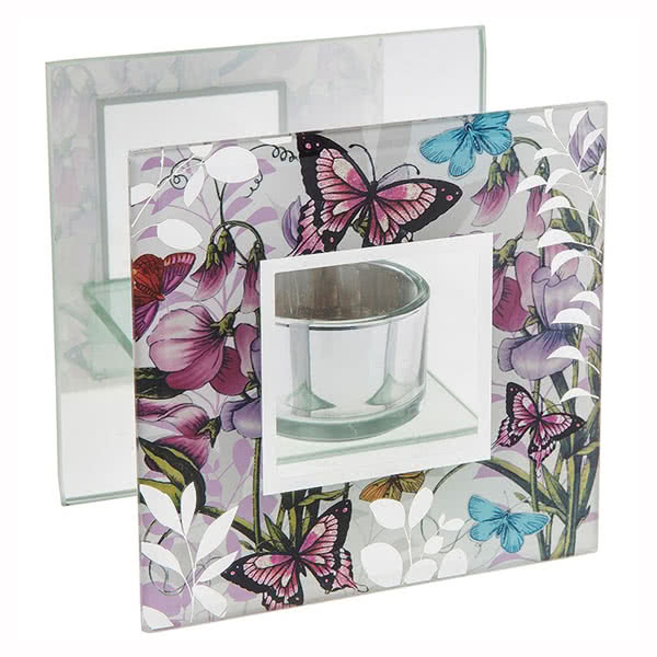 Photo Frame Sweet Pea Garden Tealight Holder
