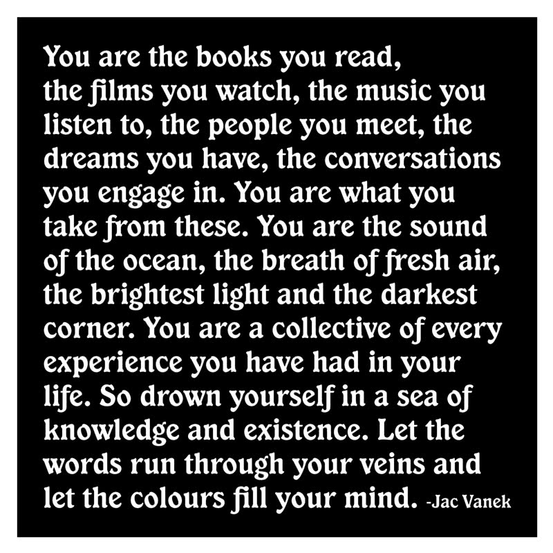 Quotable You Are The Books Card