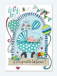 Baby boynewborn birthday cards baby boy greeting card m4hsunfo