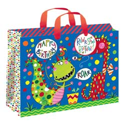 Dinosaur Gift Bag Large