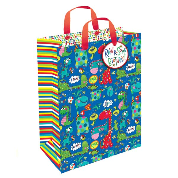 Rachel Ellen Dinosaur Gift Bag Medium