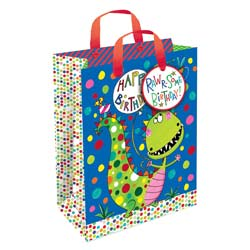 Dinosaur Gift Bag Small