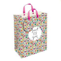 Floral Gift Bag Small