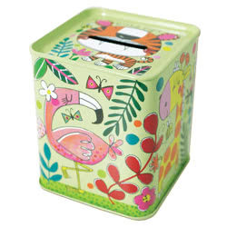 Jungle Money Box Tin