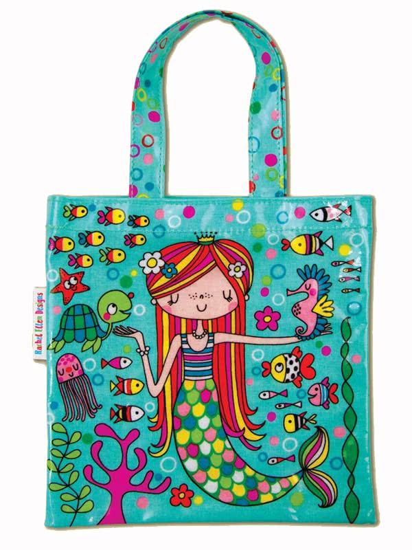 Rachel Ellen Mermaid Mini Tote Bag