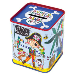 Pirate Money Tin