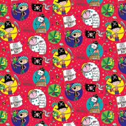 Pirates Gift Wrapping Paper