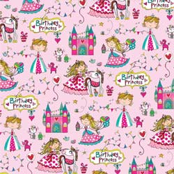 Baby Girl Gift Wrapping Paper
