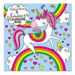 Rachel Ellen Unicorn Colouring Book £1.95