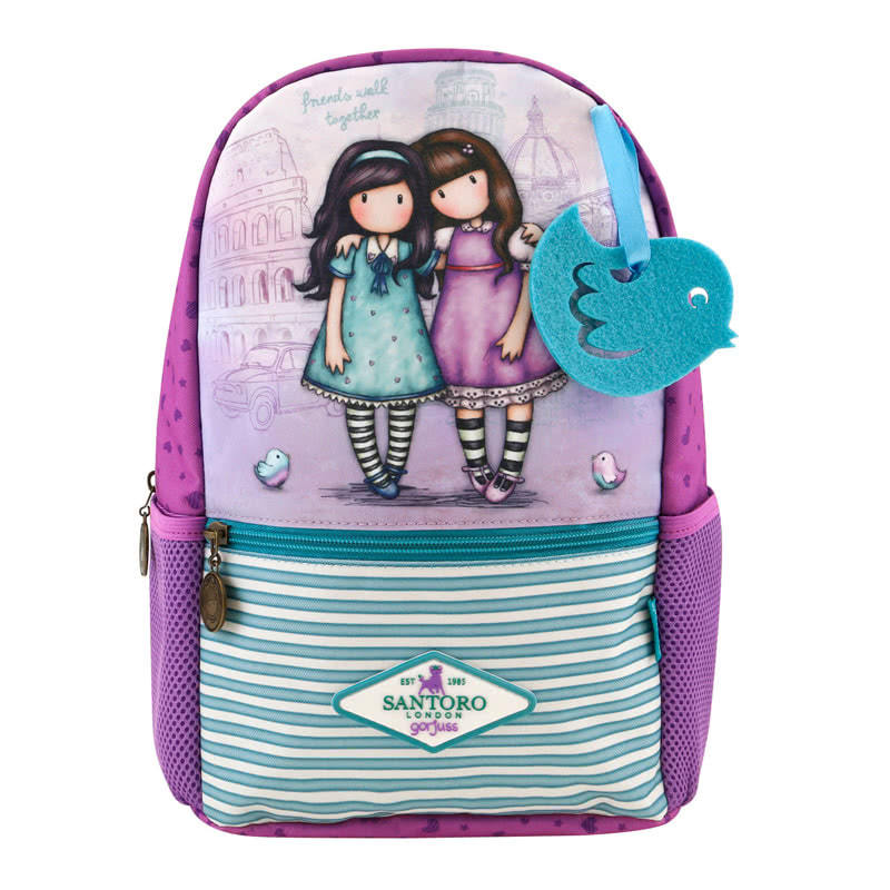 Friends walk Together Small Rucksack