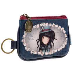 The Hatter Keyring Zip Purse