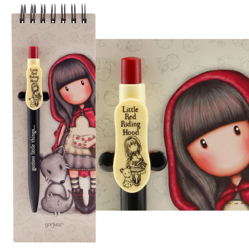 Gorjuss Little Red Riding Hood Jotter + Pen
