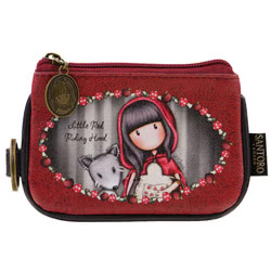 Red Riding Hood Keyring Purse
