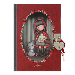 Riding Hood Lockable Journal