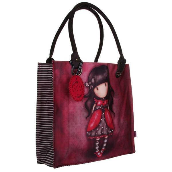 Santoro Gorjuss Large Coated Shopping Bag Ladybird 163 26 95
