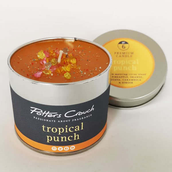 Potters Crouch Tropical Punch Scented Candle