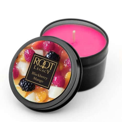 Roots Scented Candle - Blackberry Mango