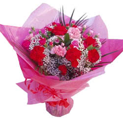 Carnations Valentines Bouquet
