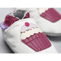 Cup Cakes Leather Shoes