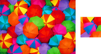 Umbrellas Wrapping Paper - Photowrap